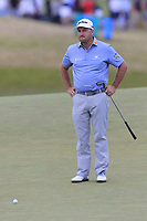 Graeme McDowell (NIR) on the 9th green during Thursday's Round 1 of the 118th U.S. Open Championship 2018, held at Shinnecock Hills Club, Southampton, New Jersey, USA. 14th June 2018.<br /> Picture: Eoin Clarke | Golffile<br /> <br /> <br /> All photos usage must carry mandatory copyright credit (&copy; Golffile | Eoin Clarke)