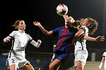 Spanish Women's Football League Iberdrola 2017/18 - Game: 9.<br /> FC Barcelona vs Madrid CFF: 7-0.<br /> Toni Duggan vs Alexandra Lopez.