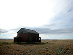 Abandoned farmstead in southern Saskatchewan, Canada