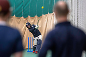 Cricket Scotland - Scotland men training at MES - Craig Wallace - picture by Donald MacLeod - 26.01.2019 - 07702 319 738 - clanmacleod@btinternet.com - www.donald-macleod.com