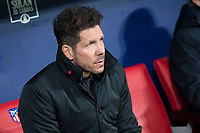 Atletico de Madrid coach Diego Pablo Simeone during King's Cup match between Atletico de Madrid and Lleida Esportiu at Wanda Metropolitano in Madrid, Spain. January 09, 2018. (ALTERPHOTOS/Borja B.Hojas) /NortePhoto.com NORTEPHOTOMEXICO