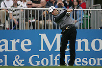 Bradley Dredge tees off on the 1st hole during the third round of the 2008 Irish Open at Adare Manor Golf Resort, Adare,Co.Limerick, Ireland 17th May 2008 (Photo by Eoin Clarke/GOLFFILE)