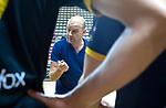 Almere - Zaalhockey  Amsterdam-Den Bosch (m) . coach Eric Verboom (Den Bosch) .    TopsportCentrum Almere.    COPYRIGHT KOEN SUYK