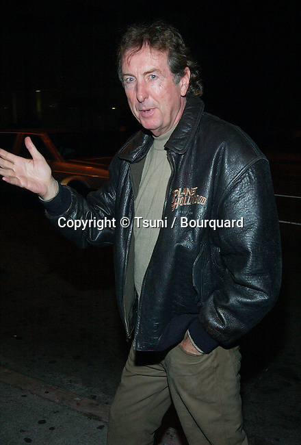 """Eric Idle arriving at the Bill Wyman 60th birthday party and book launching """" Rolling with the Rolling Stones"""" at the Bar Marmont in Los Angeles. October 24, 2002.            -            IdleEric15.jpg"""