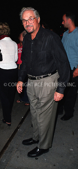 "Hal Linden who plays Herr Schultz in ""Cabaret"" pictured at Studio 54. August 2002. Please byline: Alecsey Boldeskul/NY Photo Press.   ..*PAY-PER-USE*      ....NY Photo Press:  ..phone (646) 267-6913;   ..e-mail: info@nyphotopress.com"