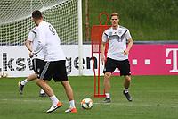 Niklas Süle (Deutschland Germany) mit Marcel Halstenberg (Deutschland Germany) - 04.06.2019: Training der Deutschen Nationalmannschaft zur EM-Qualifikation in Venlo/NL