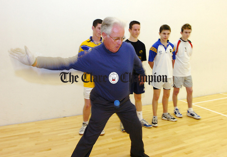 Pat Kirby, Tuamgraney Handball.