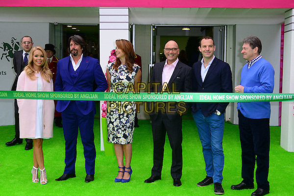 the ideal home show photocall london britain 20 march 2015