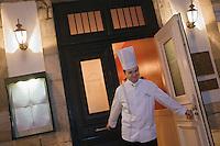 Europe/France/Aquitaine/40/Landes/ Saubusse:  Didier Gabarrus chef du restaurant : La Villa Sting