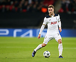 Tottenham's Christian Eriksen in action during the Champions League group match at Wembley Stadium, London. Picture date December 7th, 2016 Pic David Klein/Sportimage