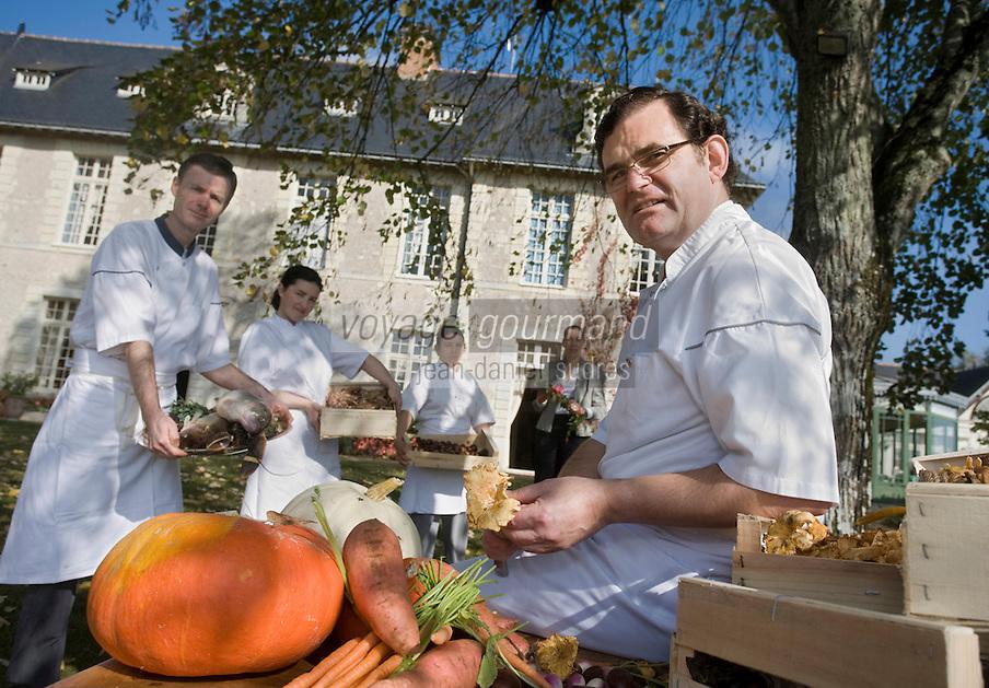 """Europe/France/Pays de la Loire/49/Maine-et-Loire/Briollay: Hotel Restaurant Relais et château """"Chateau de Noirieux"""" - Anja et Gérard Come et leur équipe"""