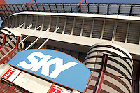 - stadio di calcio di S.Siro, pubblicità di Sky TV....- soccer stadium of S.Siro, Sky TV advertising