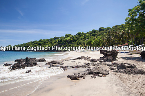 White Beach (Virgin Beach) nahe Candi Dasa, Bali