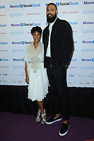 www.acepixs.com<br /> May 4, 2017  New York City<br /> <br /> Kimberly Chandler and Tyson Chandler attending the kick off event for  Moms + SocialGood Global Moms Relay campaign founded by Johnson &amp; Johnson and United Nations Foundation to improve the wellbeing of families around the world on May 4, 2017 in New York City.<br /> <br /> Credit: Kristin Callahan/ACE Pictures<br /> <br /> <br /> Tel: 646 769 0430<br /> Email: info@acepixs.com