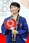 Tamayo Marukawa, <br /> JULY 24, 2017 : <br /> Event for Tokyo 2020 Olympic and Paralympic games is held <br /> at Toranomon hills in Tokyo, Japan. <br /> &quot;TOKYO GORIN ONDO&quot; will be renewed as &quot;TOKYO GORIN ONDO - 2020 -&quot;.<br /> (Photo by Yohei Osada/AFLO SPORT)