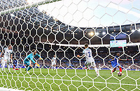 Djibril Sidibe (Monaco) of France scores his goal during the International Friendly match between France and England at Stade de France, Paris, France on 13 June 2017. Photo by David Horn/PRiME Media Images.