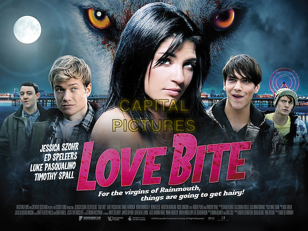 POSTER ART<br /> in Love Bite (2012) <br /> *Filmstill - Editorial Use Only*<br /> CAP/NFS<br /> Image supplied by Capital Pictures