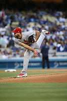 05/25/17 Los Angeles, CA: St. Louis Cardinals starting pitcher Michael Wacha #52 during an MLB game between the Los Angeles Dodgers and the St Louis Cardinals played at Dodger Stadium.