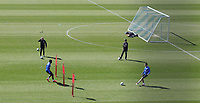 1st April 2020, Germany;<br /> FC Schalke 04, Team training during the covid-19 pandemic in Zweiergruppen