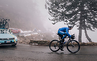 Fabio Sabatini (ITA/Quick-Step Floors)<br /> <br /> 76th Paris-Nice 2018<br /> Stage 7: Nice &gt; Valdeblore La Colmiane (175km)