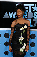 LOS ANGELES - JUN 25:  Ajiona Alexus at the BET Awards 2017 at the Microsoft Theater on June 25, 2017 in Los Angeles, CA