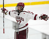 Lewis Zerter-Gossage (Harvard - 77) - The Harvard University Crimson defeated the Yale University Bulldogs 6-4 in the opening game of their ECAC quarterfinal series on Friday, March 10, 2017, at Bright-Landry Hockey Center in Boston, Massachusetts.