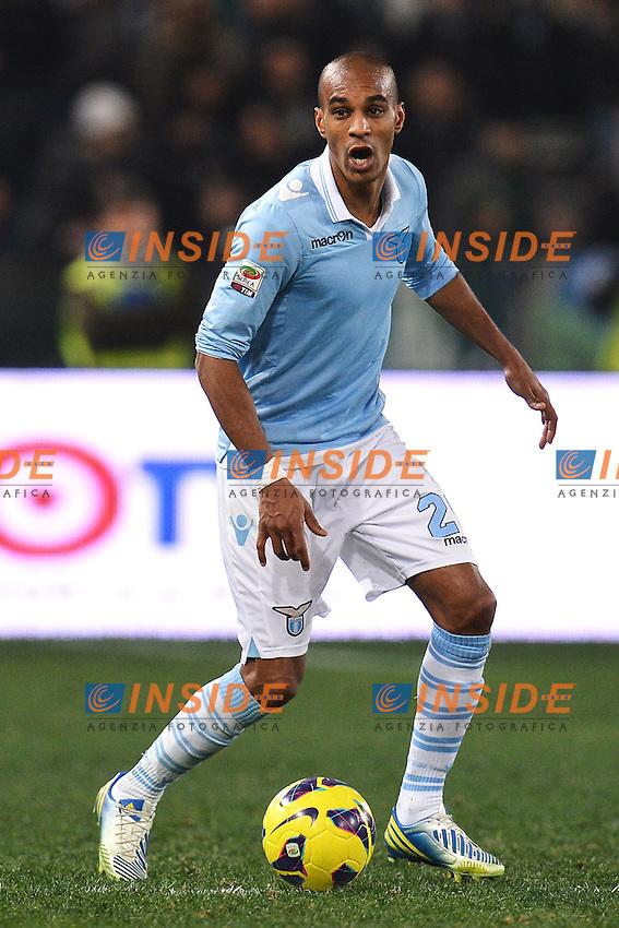 Abdoullay Konko Lazio .Roma 26/1/2013 Stadio Olimpico.Football Calcio 2012/2013 Serie A.Lazio Vs Chievo .Foto Andrea Staccioli Insidefoto