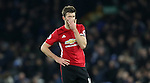Michael Carrick of Manchester United reacts during the Premier League match at Goodison Park, Liverpool. Picture date: December 4th, 2016.Photo credit should read: Lynne Cameron/Sportimage