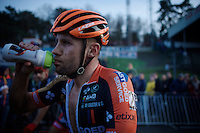 Rob Peeters (BEL/Vastgoedservice-Golden Palace) post-race<br /> <br /> UCI Cyclocross World Cup Heusden-Zolder 2015