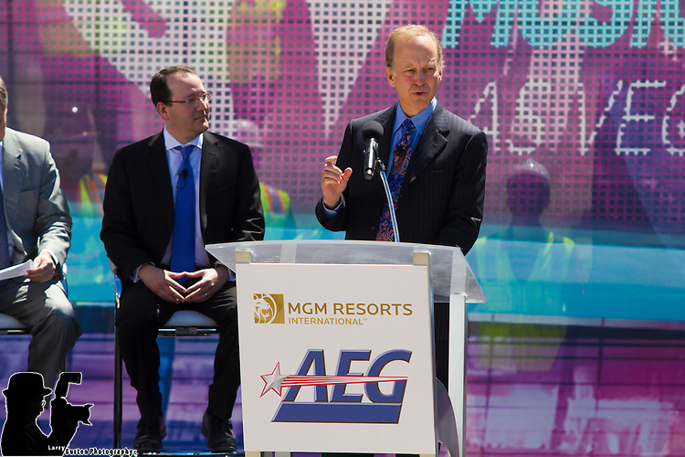 MGM and AEG Live break ground on new Concert Sporting venue next to New York NY and Monte Carlo