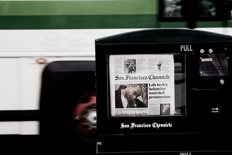 San Francisco Chronicle, taken in San Francisco