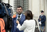 Roma, 4 Ottobre 2018<br /> Antonio Decaro<br /> Il presidente dell'Anci e sindaco di Bari Antonio Decaro al termine della  riunione del tavolo di coordinamento sul nuovo bilancio Ue e la riforma della politica di coesione post 2020, presieduto dalla ministra per il Sud