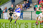 Shannon Rangers in action against  Kilcummin in the County Championship in Listowel on Sunday