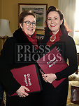 Heidi Kelly and Lesley O'Neill at the coffee morning in Annesbrook House Duleek in aid of St. Peters Church of Ireland Drogheda. Photo:Colin Bell/pressphotos.ie