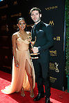 LOS ANGELES - May 1: Karrueche Tran, Kristos Andrews at The 43rd Daytime Emmy Awards Gala at the Westin Bonaventure Hotel on May 1, 2016 in Los Angeles, California