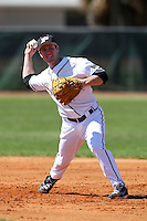 February 26, 2010:  Second Baseman Nick Overmyer (11) of the Purdue Boilermakers during the Big East/Big 10 Challenge at Raymond Naimoli Complex in St. Petersburg, FL.  Photo By Mike Janes/Four Seam Images