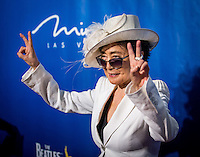LAS VEGAS, NV - July 14, 2016: Yoko Ono pictured arriving at The Beatles LOVE by Cirque Du Soleil at The Mirage Resort in Las vegas, NV on July 14, 2016. Credit: Erik Kabik Photography/ MediaPunch