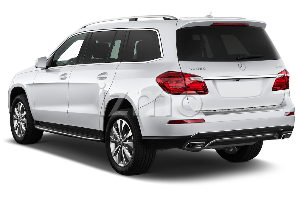 2013 Mercedes GL-Class GL450 Luxury SUV Angular Rear Stock Photo