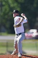 PT White (10) throws a pitch, Thursday, June 25, 2020 during a baseball game at the Randall Tyson Recreational Complex in Springdale. Check out nwaonline.com/200626Daily/ for today's photo gallery. <br /> (NWA Democrat-Gazette/Charlie Kaijo)