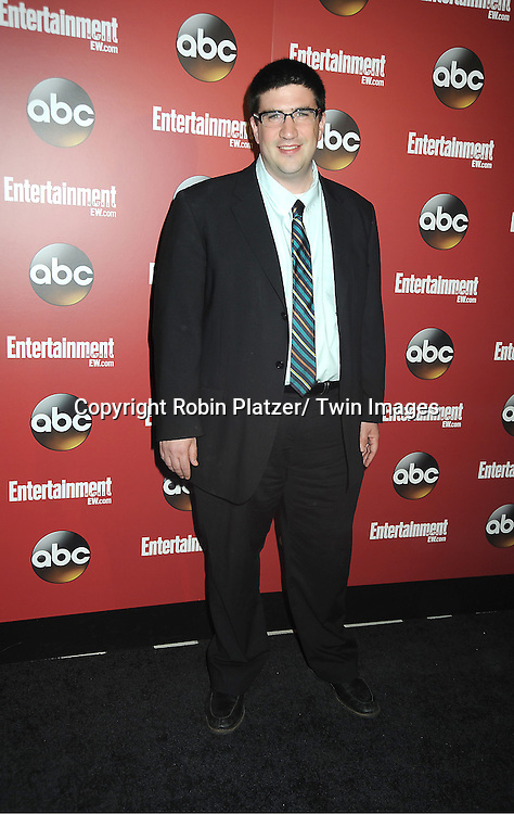 Adam Horowitz at the Entertainment Weekly and ABC-TV Upfront Party at The General on May 14, 2013 in New York City.
