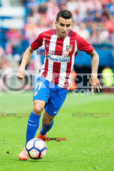 Atletico de Madrid's player AÁngel Martín Correa during a match of La Liga Santander at Vicente Calderon Stadium in Madrid. September 17, Spain. 2016. (ALTERPHOTOS/BorjaB.Hojas) /NORTEPHOTO