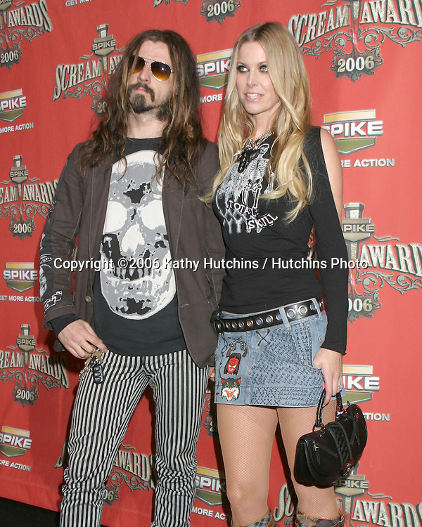 .Spike TV presents the Scream Awards.Pantages Theater.Los Angeles, CA.October 7 , 2006.©2006 Kathy Hutchins / Hutchins Photo....                 Rob Zombie & Sheri Moon Zombie.Spike TV presents the Scream Awards.Pantages Theater.Los Angeles, CA.October 7 , 2006.©2006 Kathy Hutchins / Hutchins Photo....