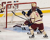 Anders Bjork (Notre Dame - 10) opened scoring in the game. - The Boston College Eagles defeated the University of Notre Dame Fighting Irish 6-4 (EN) on Saturday, January 28, 2017, at Kelley Rink in Conte Forum in Chestnut Hill, Massachusetts.The Boston College Eagles defeated the University of Notre Dame Fighting Irish 6-4 (EN) on Saturday, January 28, 2017, at Kelley Rink in Conte Forum in Chestnut Hill, Massachusetts.