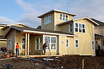 Cottage architecture, Chico Beach Cottages, New Construction, March 19, 2011, built green, cottage houses, by the Cottage Company,  Linda Pruitt, Developer, Wenzlau Architects, Silverdale, Dyes Inlet, Seattle, Washington, Pacific Northwest, USA, March 19, 2011,
