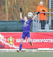 Waasland Beveren Sinaai Girls - RSC Anderlecht : Tessa Wullaert.foto DAVID CATRY / Nikonpro.be