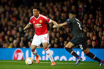 Anthony Martial of Manchester United in action during the UEFA Europa League match at Old Trafford. Photo credit should read: Philip Oldham/Sportimage