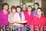 5577- 5580.TEA LADIES: The ladies of Lixnaw who helped out with the Tea/Soup and Sandwiches on Sunday at the Lixnaw Coursing.L-r: Liz O'Keeffe, Noreen Mahon, Muireann McElligott, Sharon McMahon, maria Ryall, Juli Ann O'Keeffe and mags O'Sullivan..