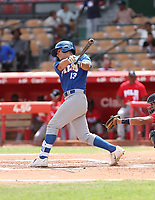 Antonio Gomez participates in the MLB International Showcase at Estadio Quisqeya on February 22-23, 2017 in Santo Domingo, Dominican Republic.