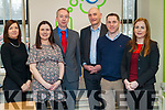 Kerry Local Enterprise Office pictured l-r: Eilish O'Donoghue, Maria Daly, Victor Sheahan, Tomás Hayes, Conor Slattery and Bríd Bowler.