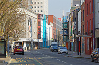 Pictured: High Street in Swansea, Wales, UK. Tuesday 24 March 2020<br /> Re: Covid-19 Coronavirus pandemic, UK.